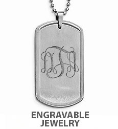 Engravable Jwelry
