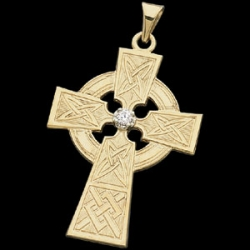 CROSS PENDANT W DIAMOND  s R41073