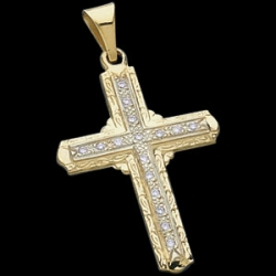 CROSS PENDANT W DIAMOND  s R41078
