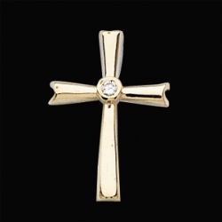 CROSS PENDANT W DIAMOND  s R80065D