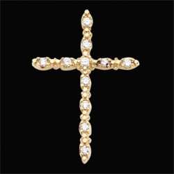 CROSS PENDANT W DIAMOND  s R41015D