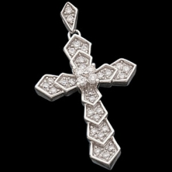 DIAMOND CROSS PENDANT  s R41205