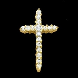 CROSS PENDANT W DIAMOND  s R80066D