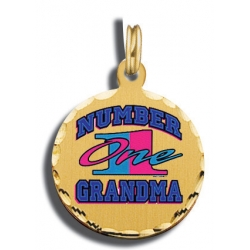Mother s Day Number  1 Grandma Charm