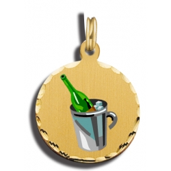 Champagne Bottle Charm
