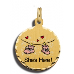 Baby Girl s Shoes Charm