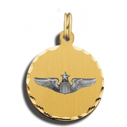 Senior Pilot Wings Charm