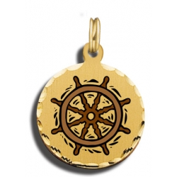 Sailboat Wheel Charm