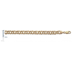 14k Yellow Gold Charm Bracelet