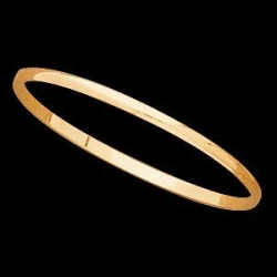 14K Yellow Gold Child s Bangle Bracelet