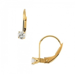 14K Yellow Gold Children s Earrings