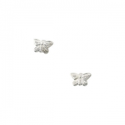 14K Yellow Gold Children s Butterfly Earring
