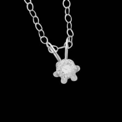 14K Yellow Gold Children s ButterCup Pendant