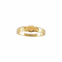 14K Yellow Gold Children s Heart Ring
