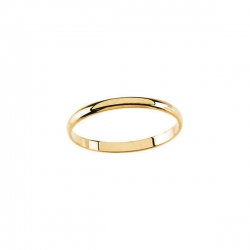 14K Yellow Gold Children s Plain Ring