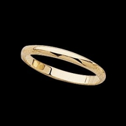 14K Yellow Gold Teen Joint Ring