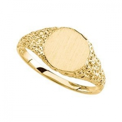 14K Gold Women s Signet Ring