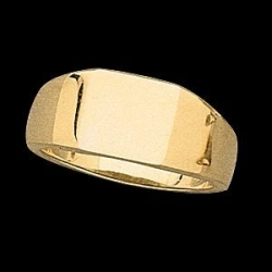 14K Gold Ladies Signet Ring