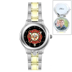 HourPower Firefighter s Watch  Two Tone  for Men