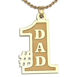 Fathers #1 Dad Charm