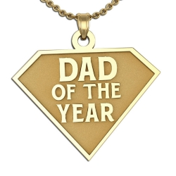 Dad of the Year Charm