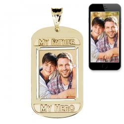 My Father  My Hero Pendant