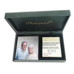 Solid Sterling Silver Portrait Plaque