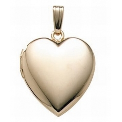 Solid 14K Gold Filled General Heart Locket