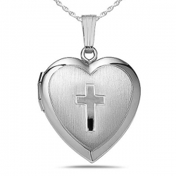 Sterling Silver Children s Heart Locket