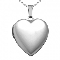 Sterling Silver  Sweetheart  Heart Locket