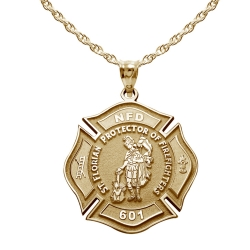 Customized Saint Florian Medal   EXCLUSIVE