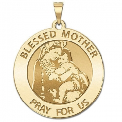 Blessed Mother  Virgin Mary Medal   EXCLUSIVE