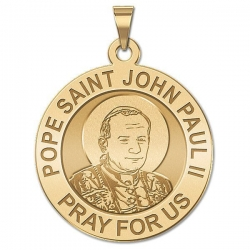 Pope John Paul II Medal  EXCLUSIVE