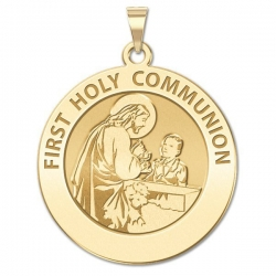 First Holy Communion Medal  for a Boy   EXCLUSIVE