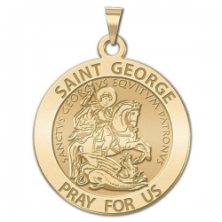 Saint George Medal  EXCLUSIVE
