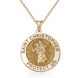 Saint Christopher Medal    EXCLUSIVE