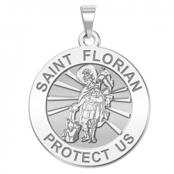 Saint Florian Medal   EXCLUSIVE