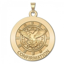 Confirmation Medal    Holy Spirit   EXCLUSIVE