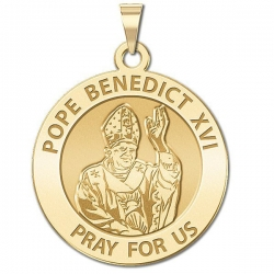 Pope Benedict XVI Medal  EXCLUSIVE