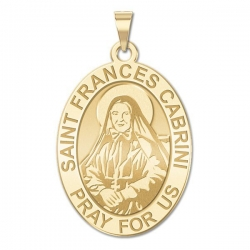 Saint Frances Cabrini Medal   EXCLUSIVE