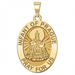 Infant of Prague   Medal   EXCLUSIVE