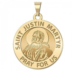 Saint Justin Martyr Medal   EXCLUSIVE