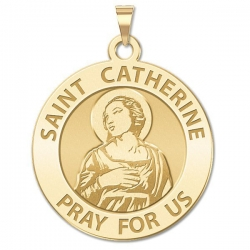 Saint Catherine of Alexandria Medal    EXCLUSIVE