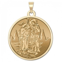 EXCLUSIVE  Baptism Medal
