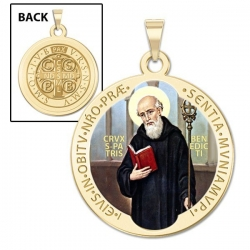 Saint Benedict Medal   Color EXCLUSIVE
