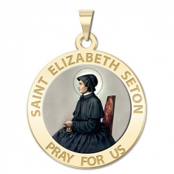 Saint Elizabeth Seton Medal  Color EXCLUSIVE