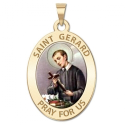 Saint Gerard Medal   Color EXCLUSIVE
