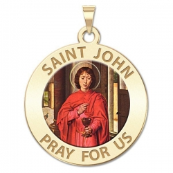 Saint John the Evangelist Medal  EXCLUSIVE