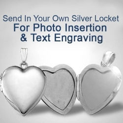 Send your SILVER Locket to have a photo put in