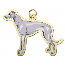 Dog   Greyhound Charm